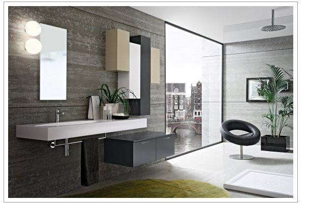 installazione mobili bagno milano, esposizione mobili bagno ... - Arredo Bagno Moderno Economico
