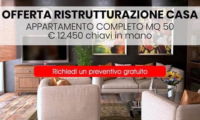 Offerta ristrutturazione appartamento a Milano